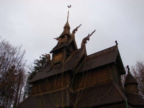 Fantoft Stave Church June 2007