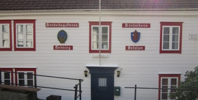March 30, 2014 - Sandvikens Bataljon and Sandviksguttenes forening house